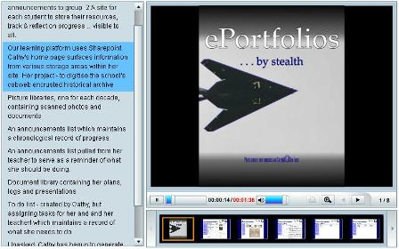 ePortfolios . . . by stealth